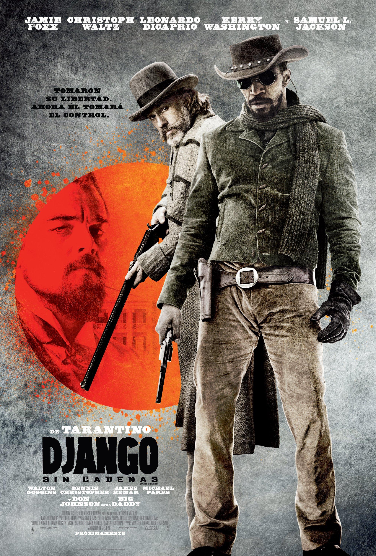 django sin cadenas poster mexico latam