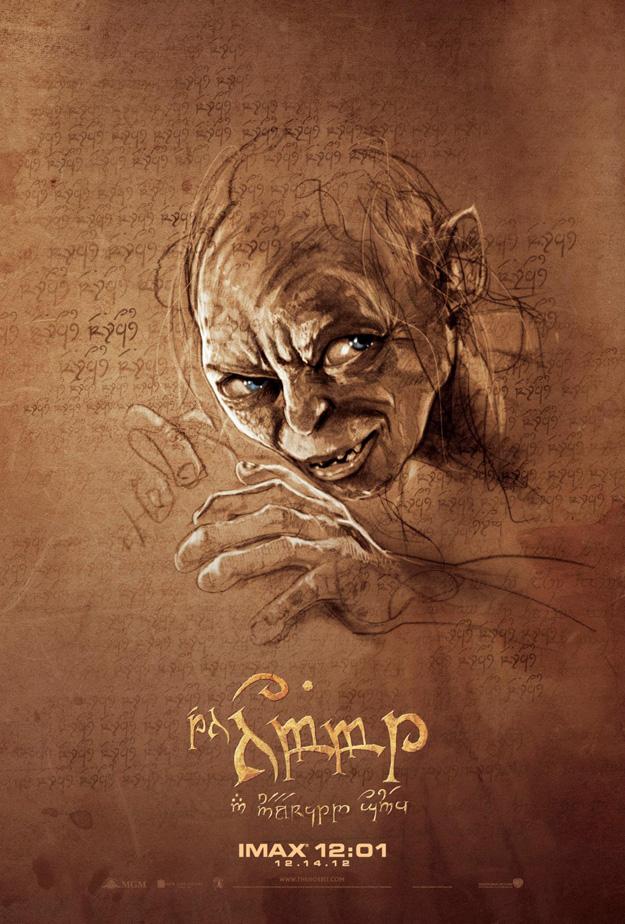 Hobbit IMAX Poster Gollum