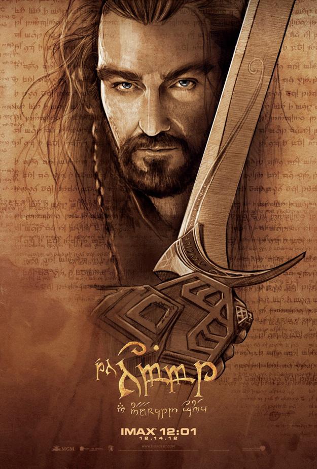 Hobbit IMAX Poster Thorin