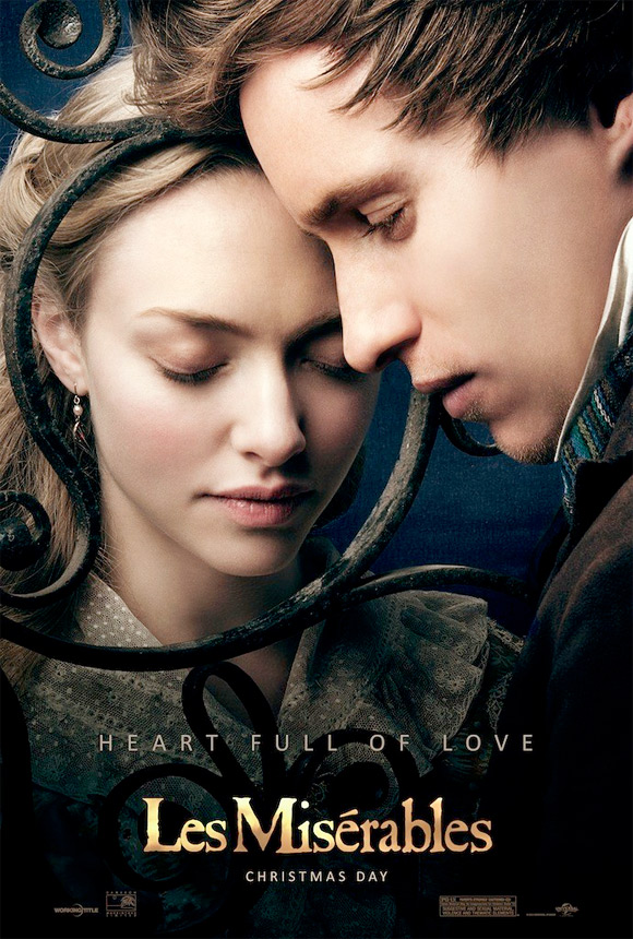 amanda seyfried eddie redmayne miserables