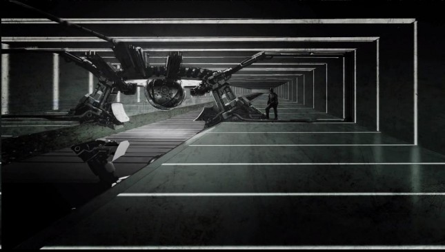 caballero noche asciende arte conceptual bomba