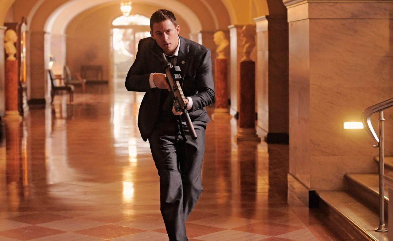 channing tatum white house down