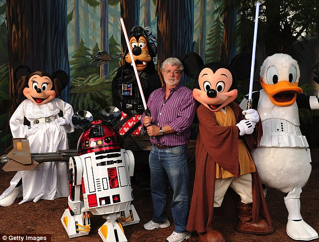 george lucas mickey mouse disney