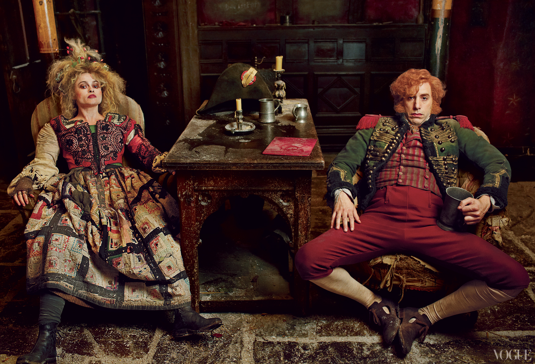 miserables thenardiers bonham carter baron cohen