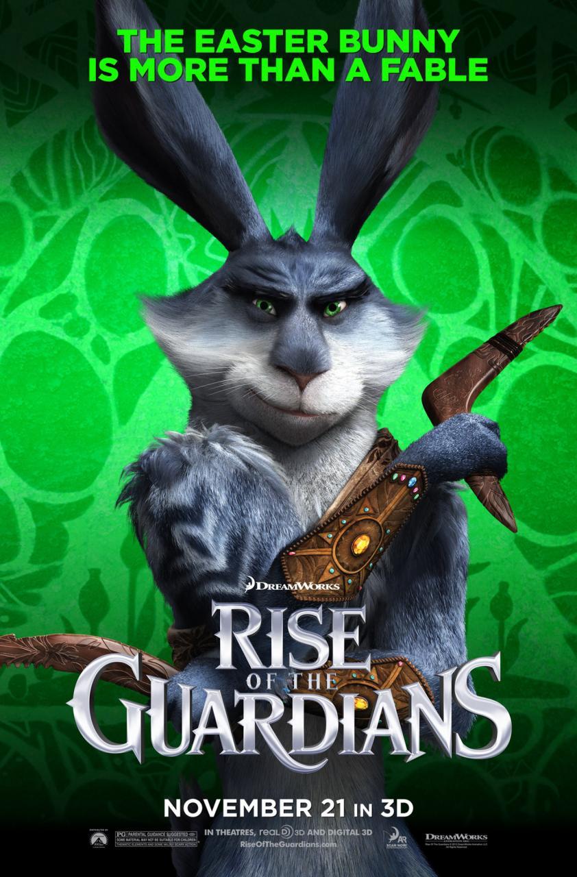 conejo de pascua origen guardianes