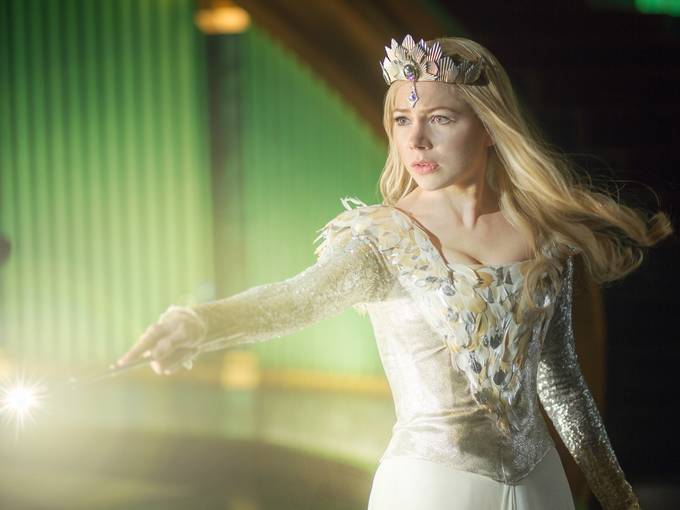 glinda michelle williams oz el poderoso