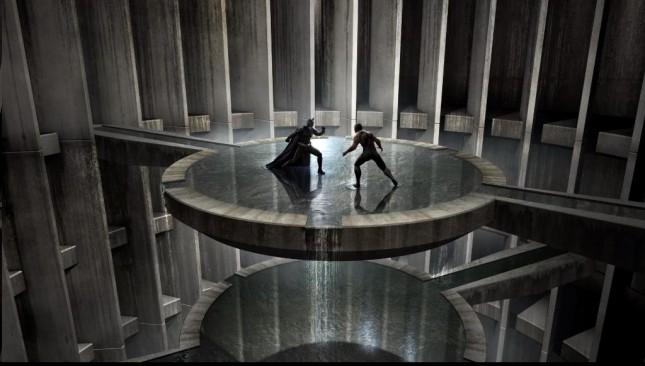 batan vs bane arte conceptual