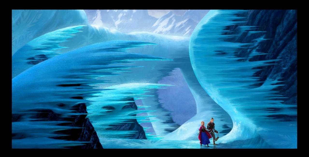 frozen arte conceptual disney