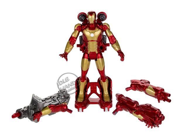 iron man 3 juguete con accesorios figura accion