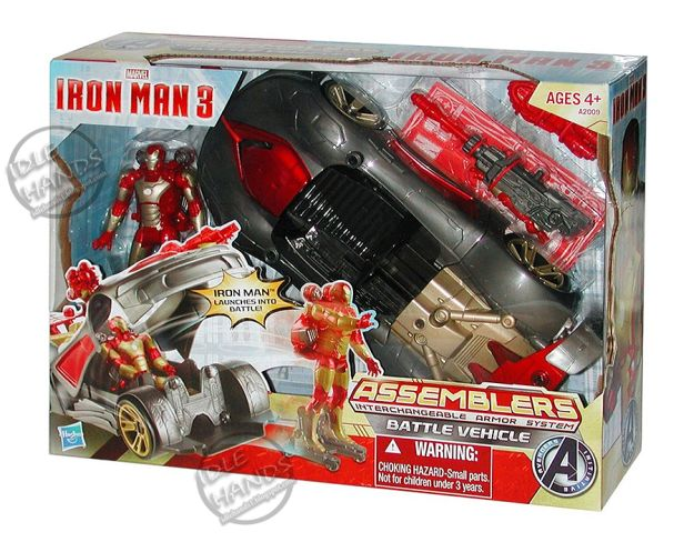 iron man 3 juguete carro convertible