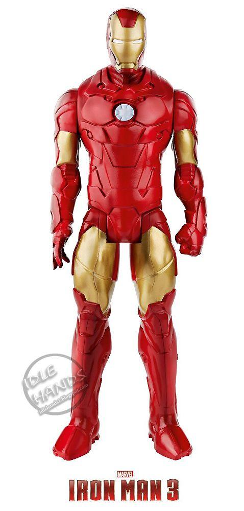 Iron Man 3 juguete figura de accion