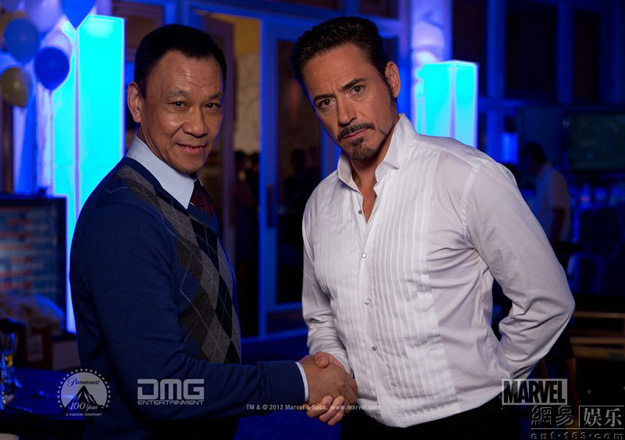 iron man 3 wang xuequi robert downey jr