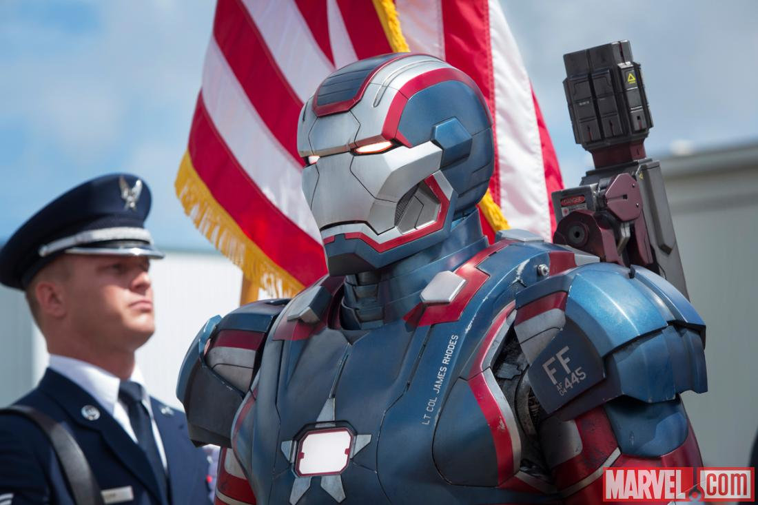 iron patriot marvel iron man 3