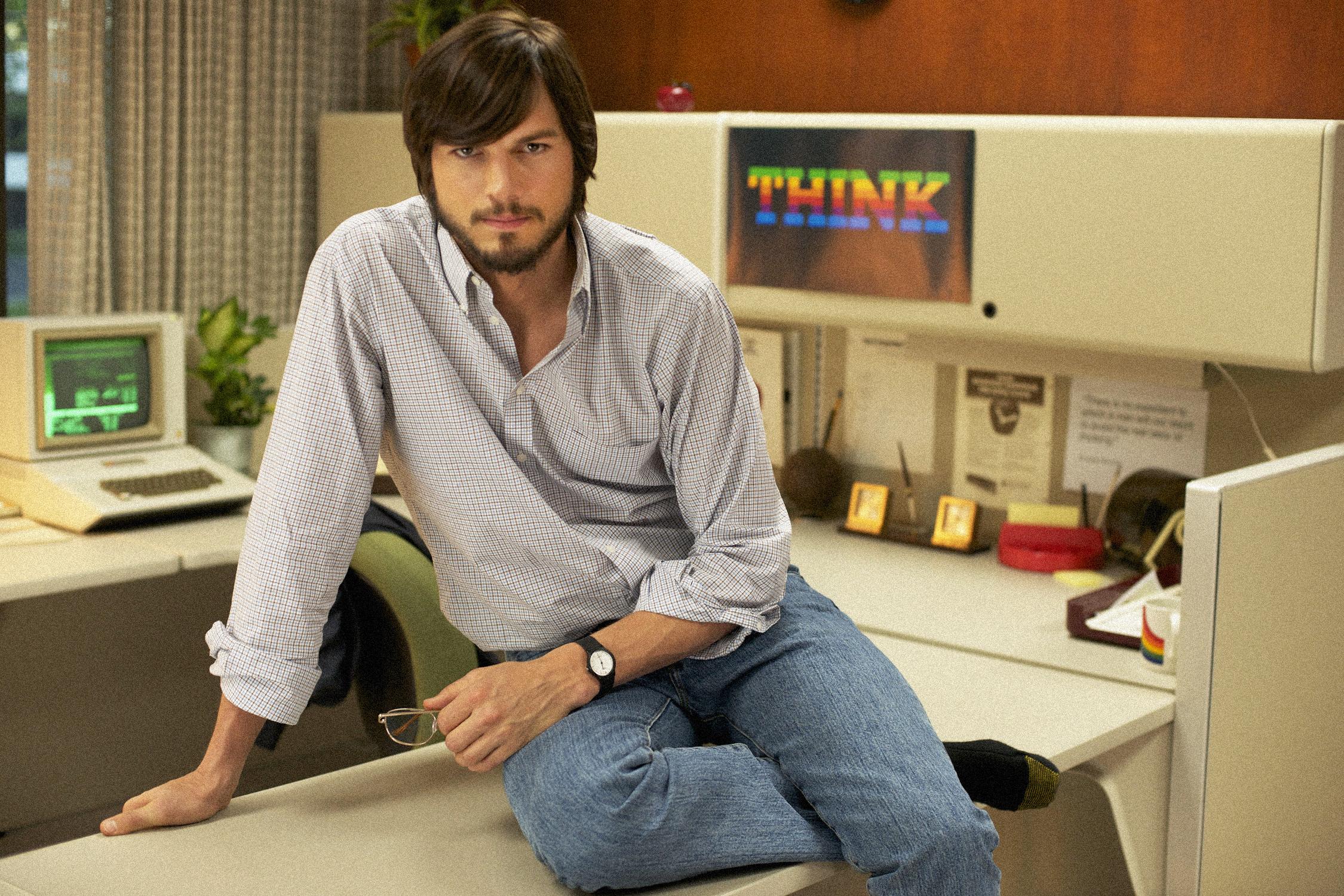jOBS ashton kutcher steve jobs