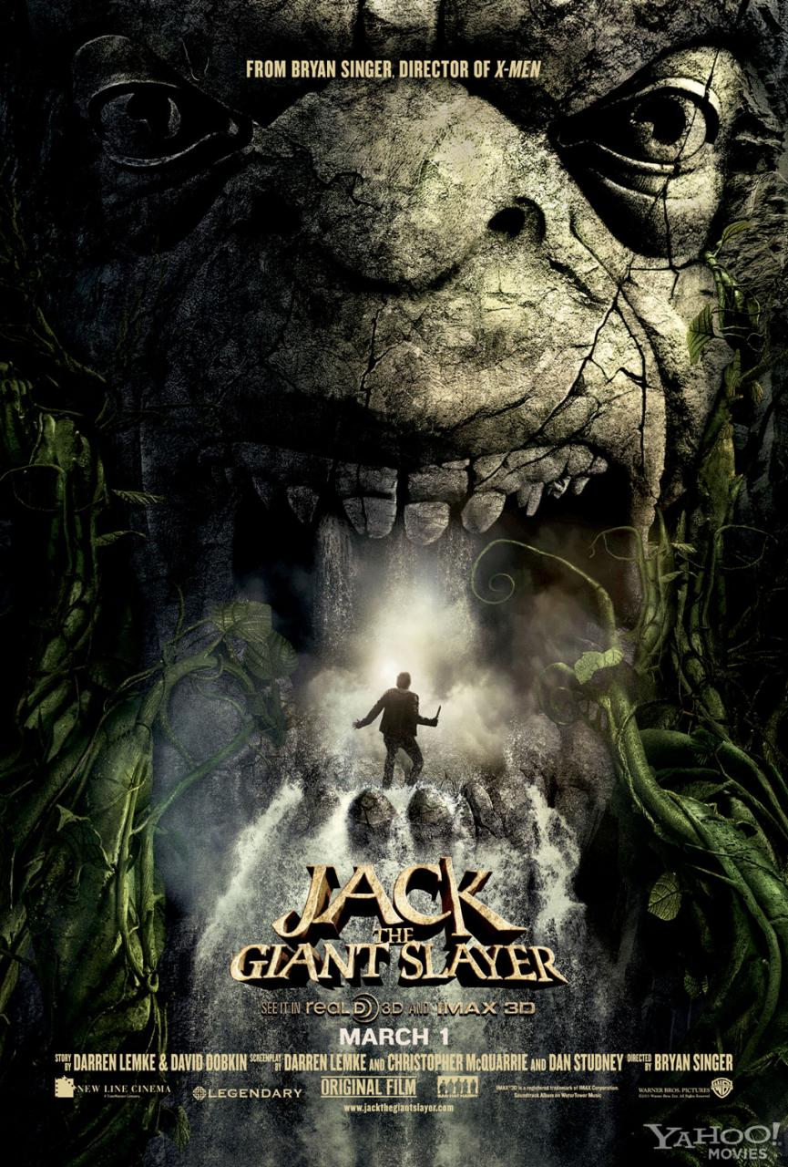 jack caza gigantes poster