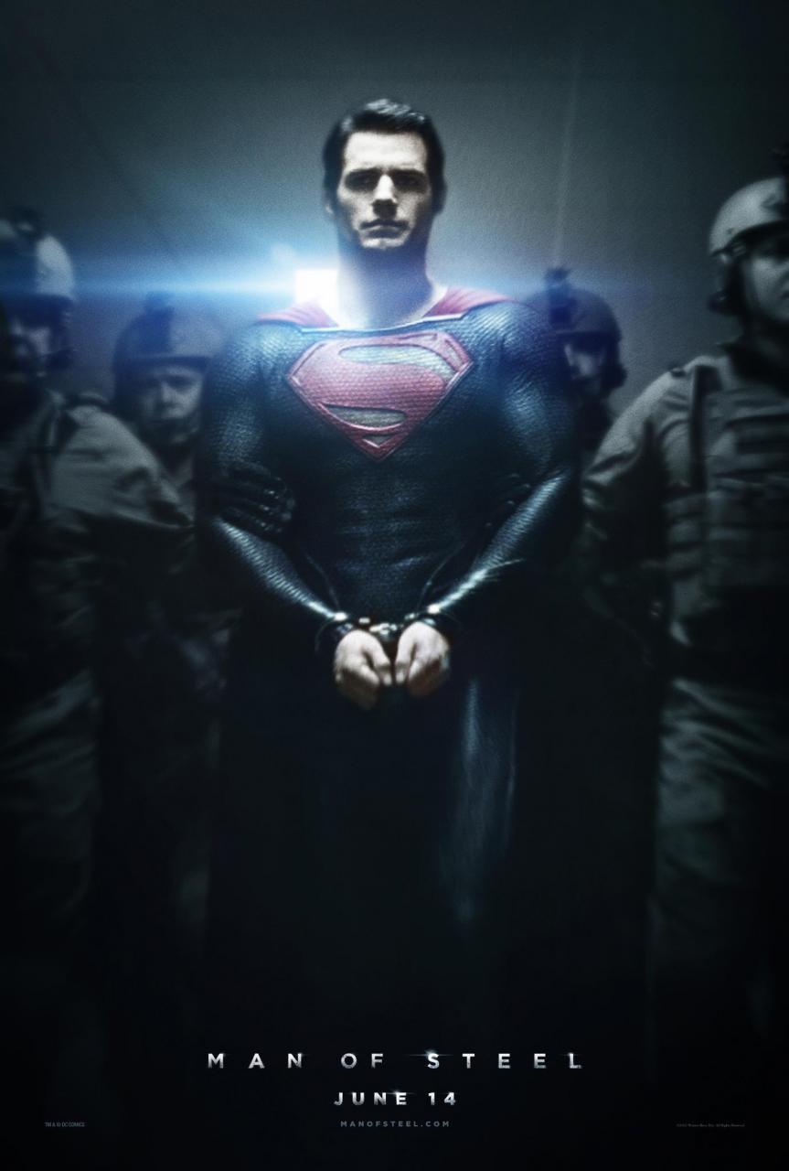 man of steel superman arrestado