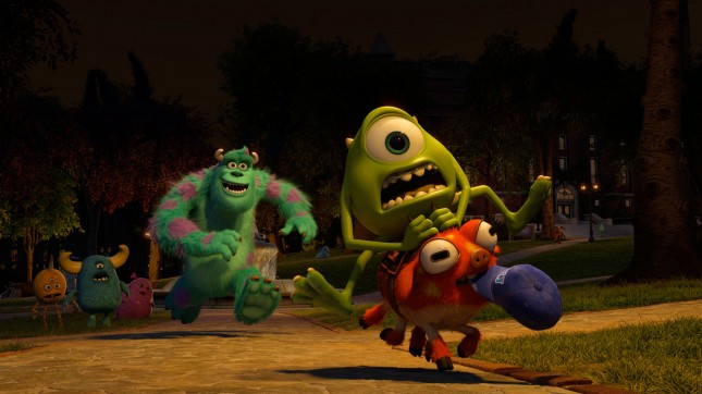 monsters university mike sully