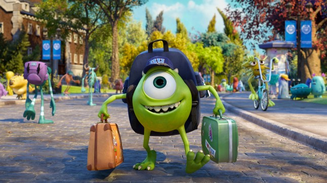 monsters university mike wasowski