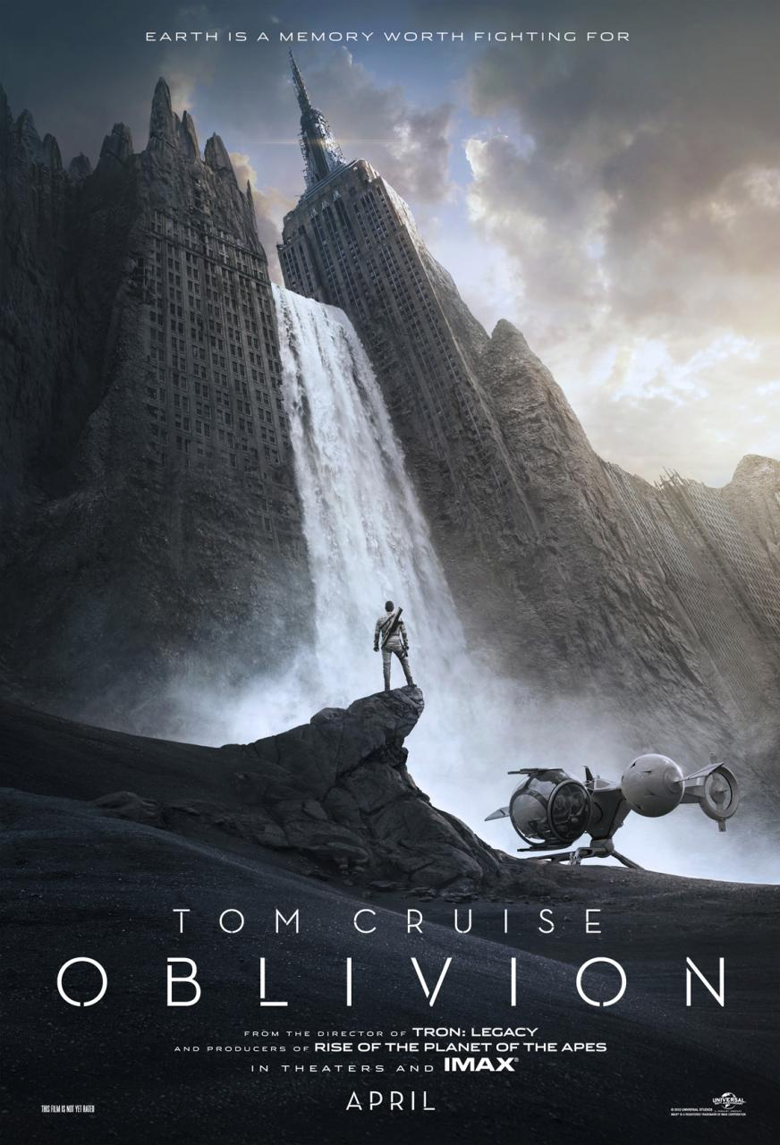 tom cruise poster olbivion