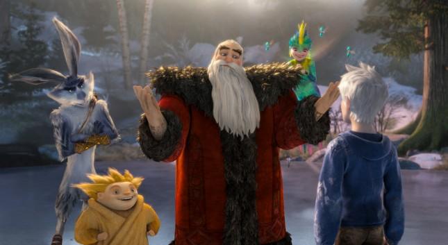 origen de los guardianes personajes santa frost hada conejo sandman