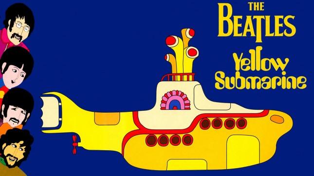 submarino amarillo beatles
