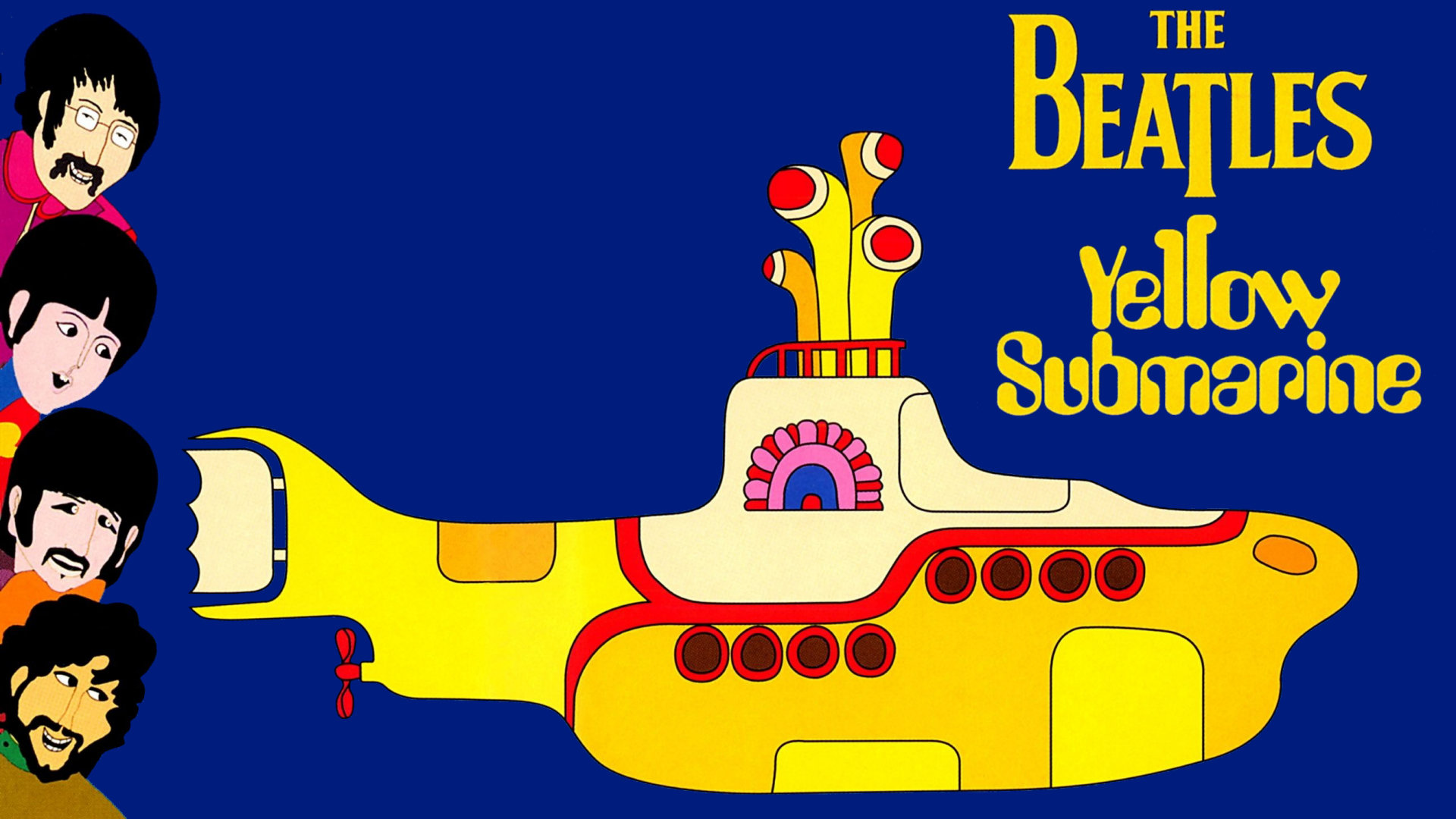 submarino amarillo beatles