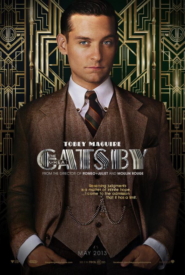 tobey maguire nick carraway gran gatsby