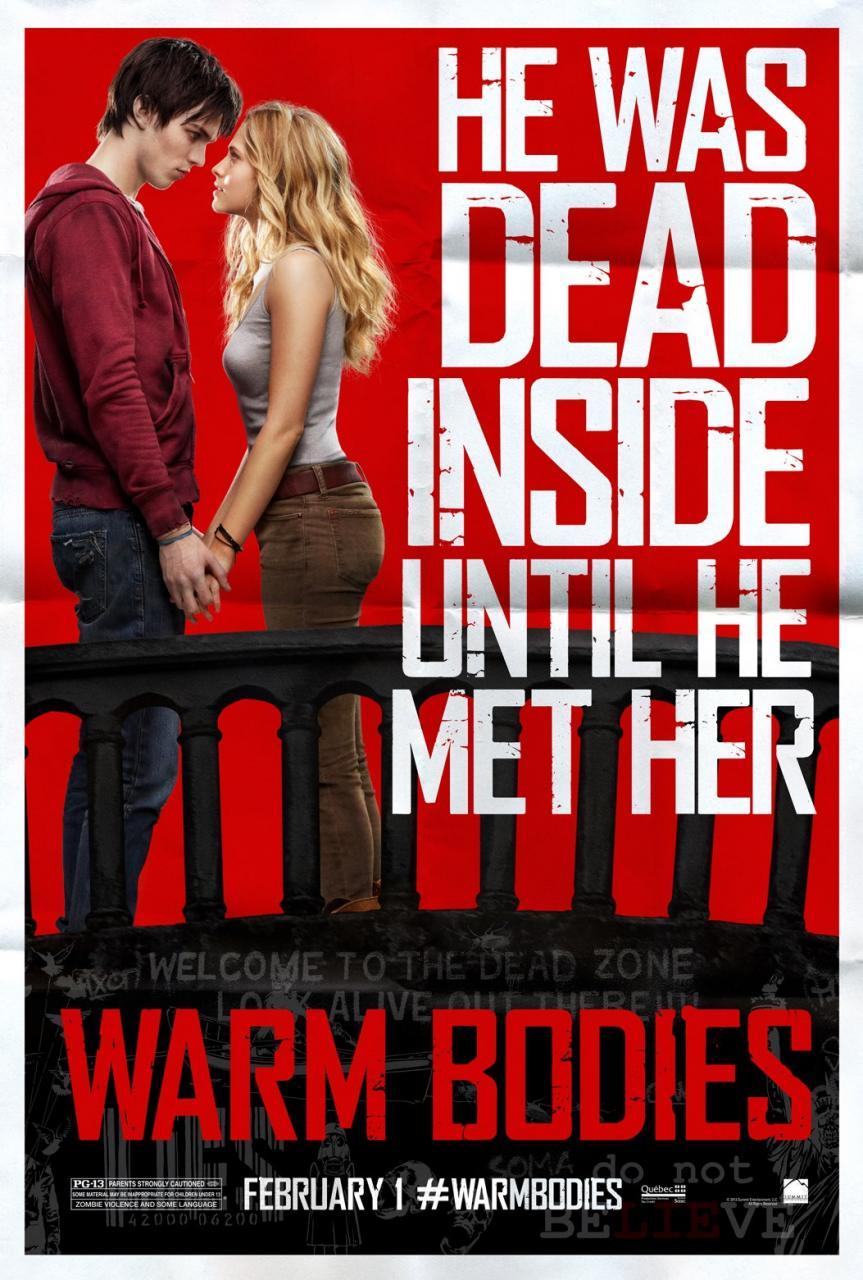 warm bodies poster 1