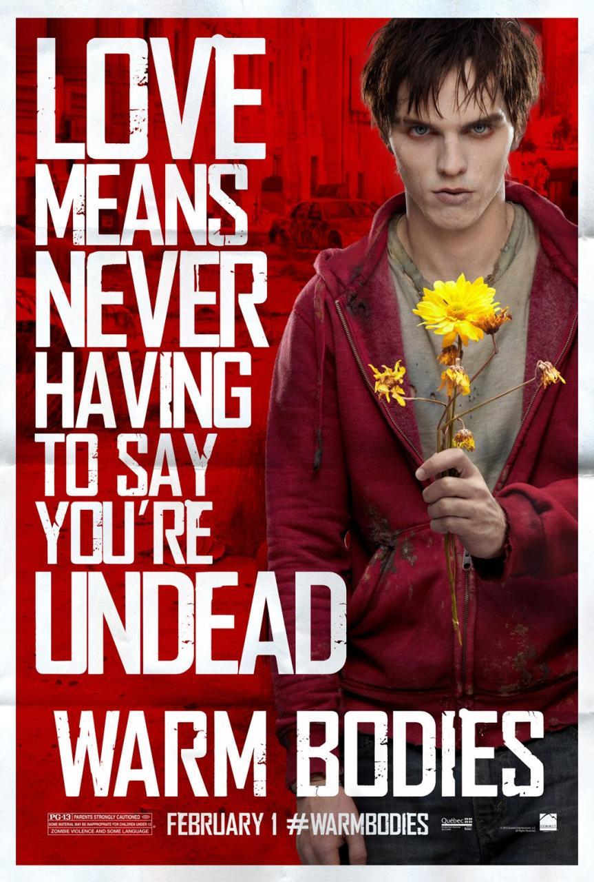 warm bodies poster 2