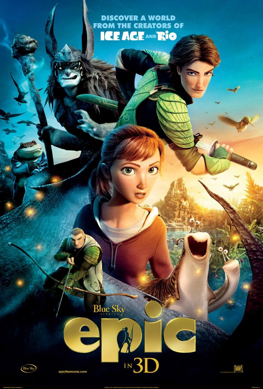 epic famoso poster animacion creadores de rio