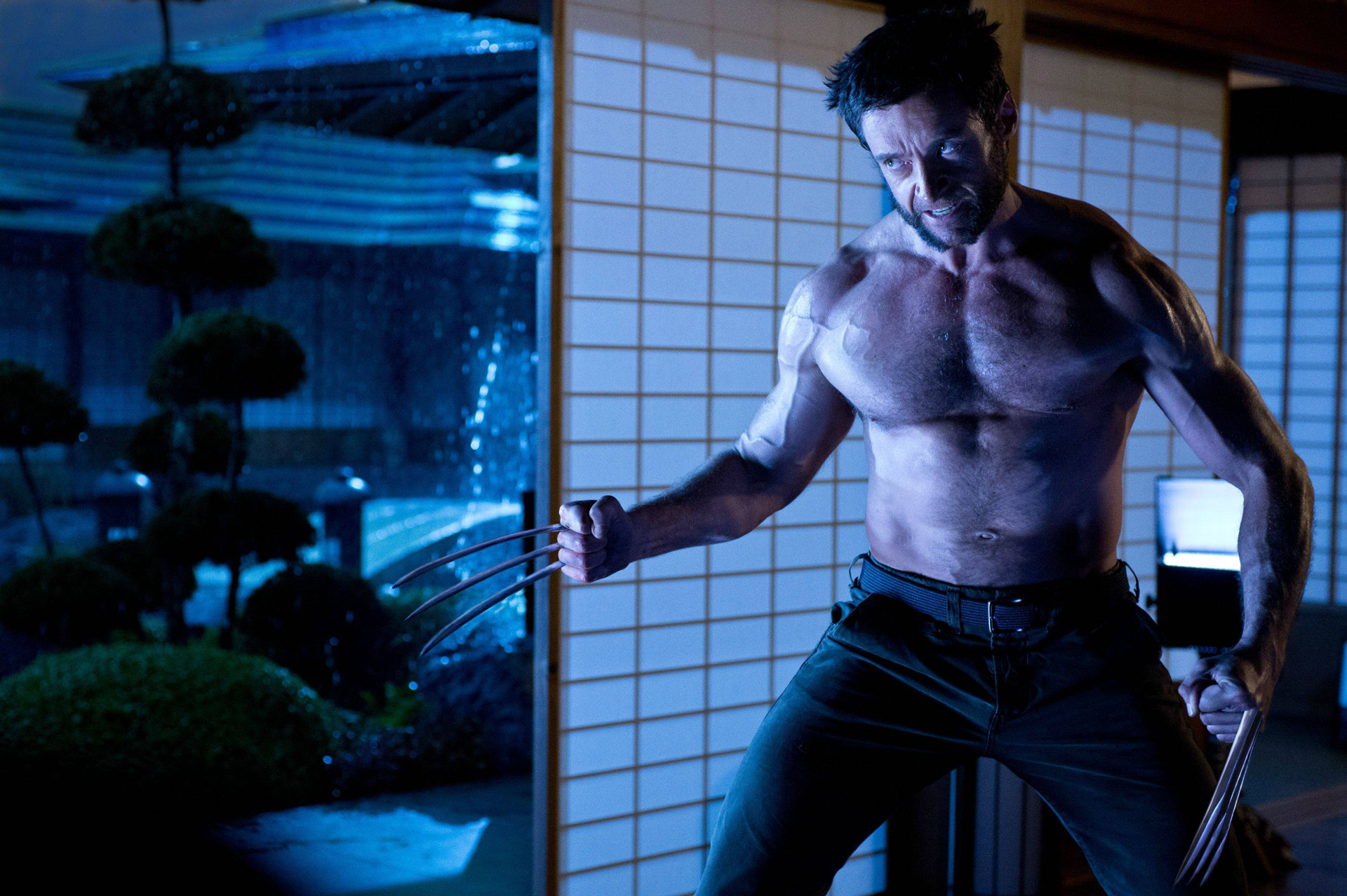 hugh jackman the wolverine 2013 lobezno