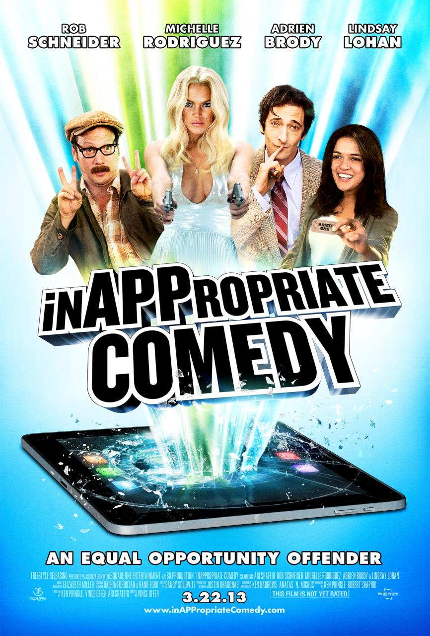 inappropiate comedy poster