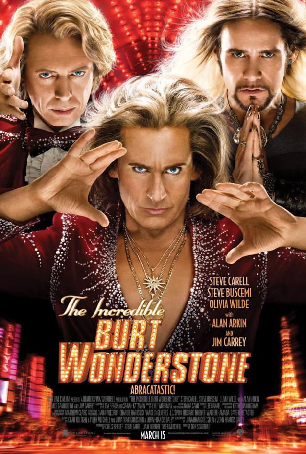 incredible burt wonderstone poster