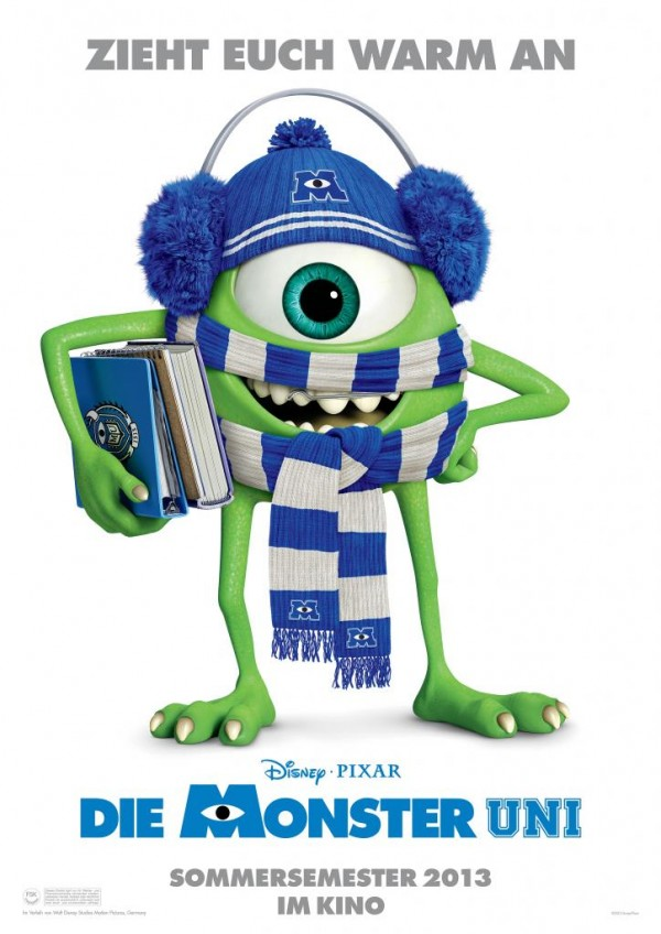 monsters university poster aleman