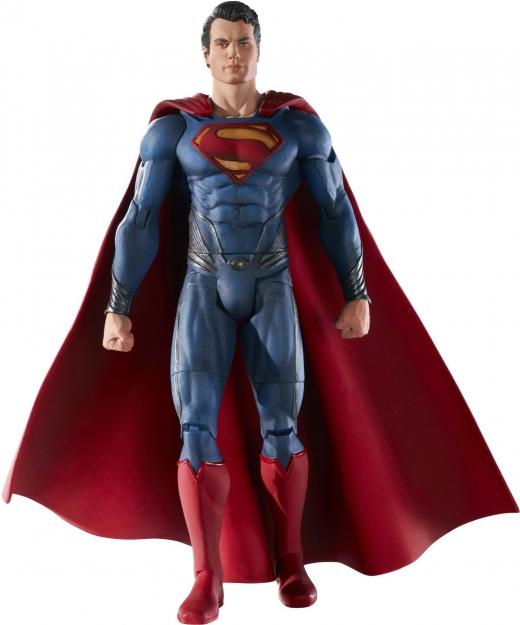 juguete de superman hombre de acero