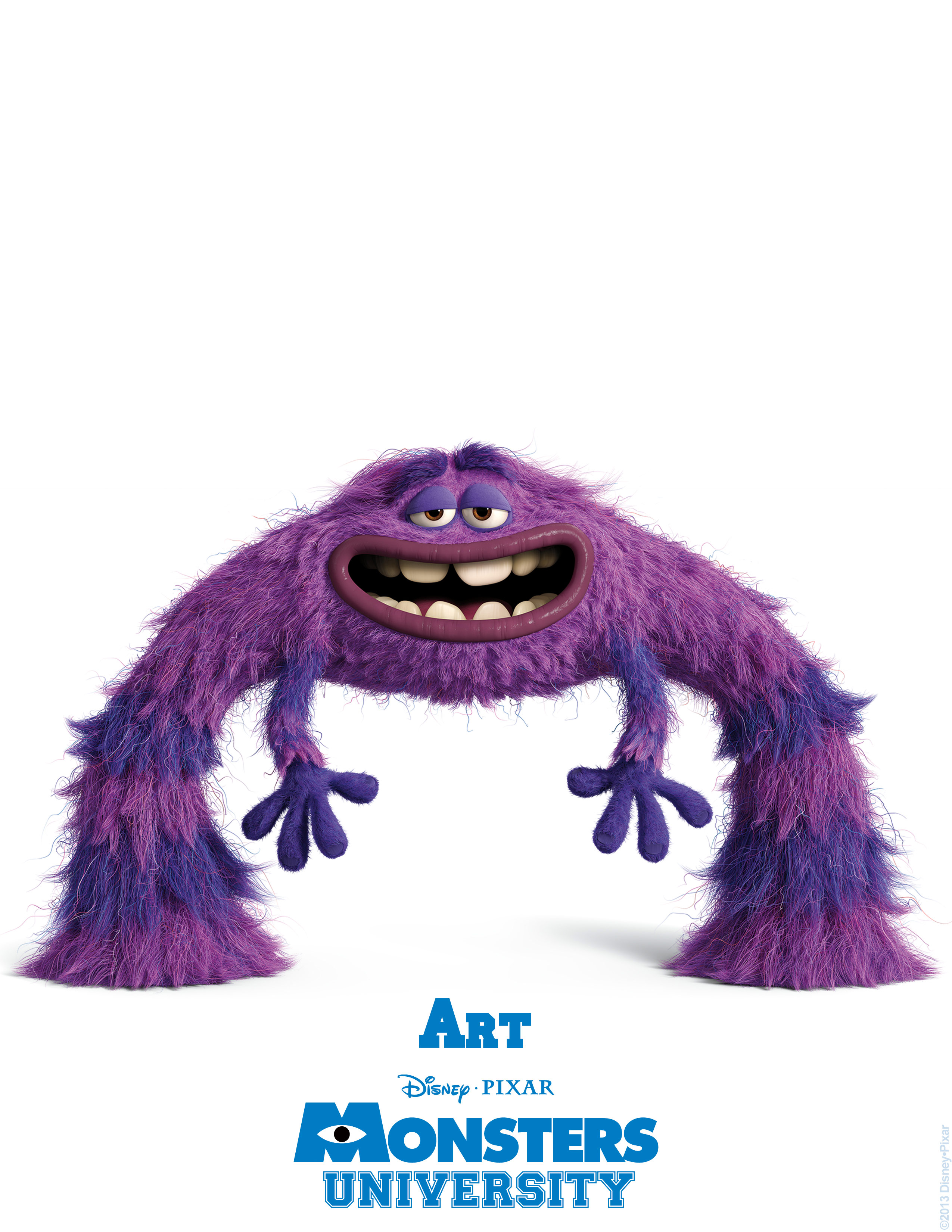 art monsters university personajes