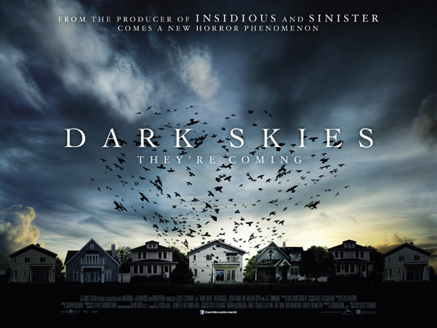 dark skies quad poster