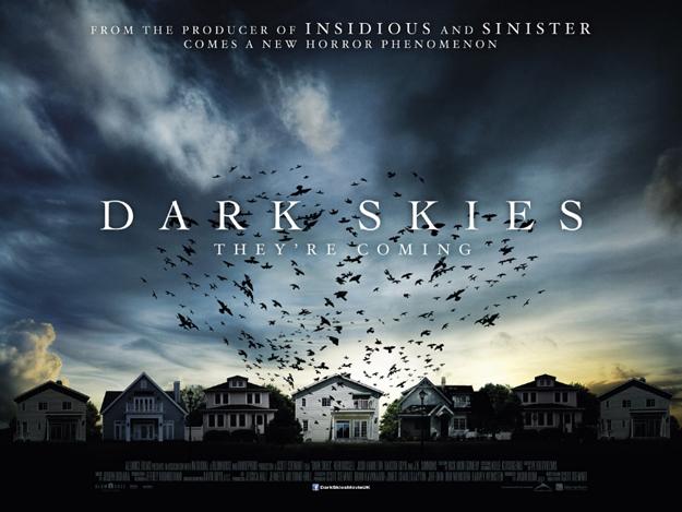 dark skies quad poster