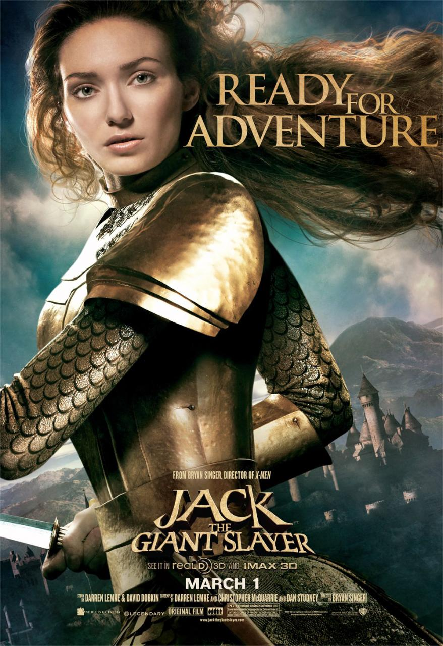 eleanor tomlinson jack caza gigantes poster