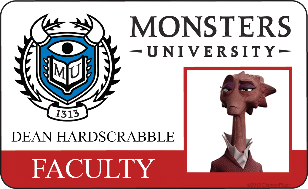 decano hardscrabble monsters university id