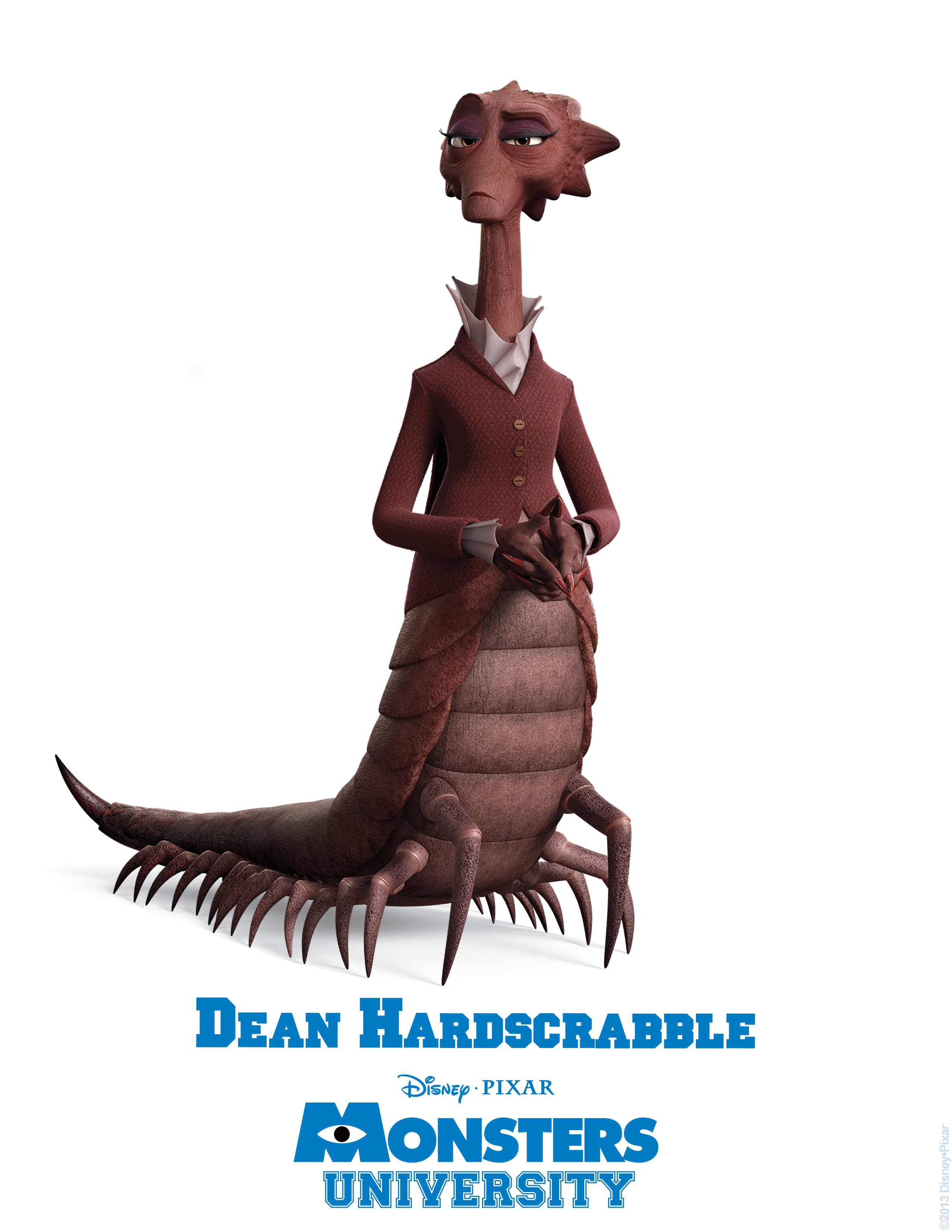decano hardscrabble monsters university personajes