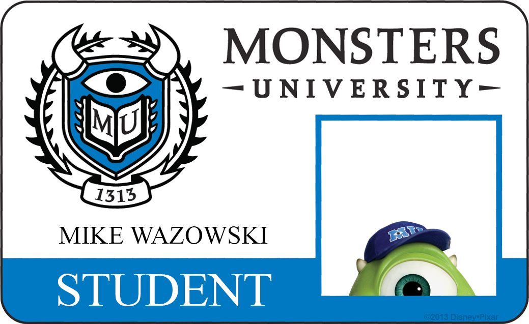 mike wazowski monsters university id