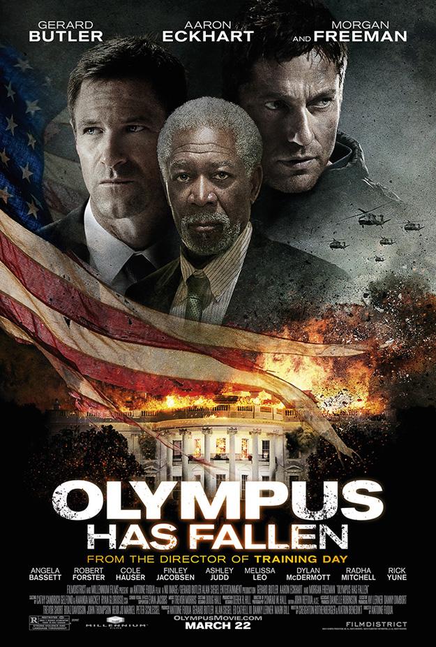 olympus has fallen protagonistas poster