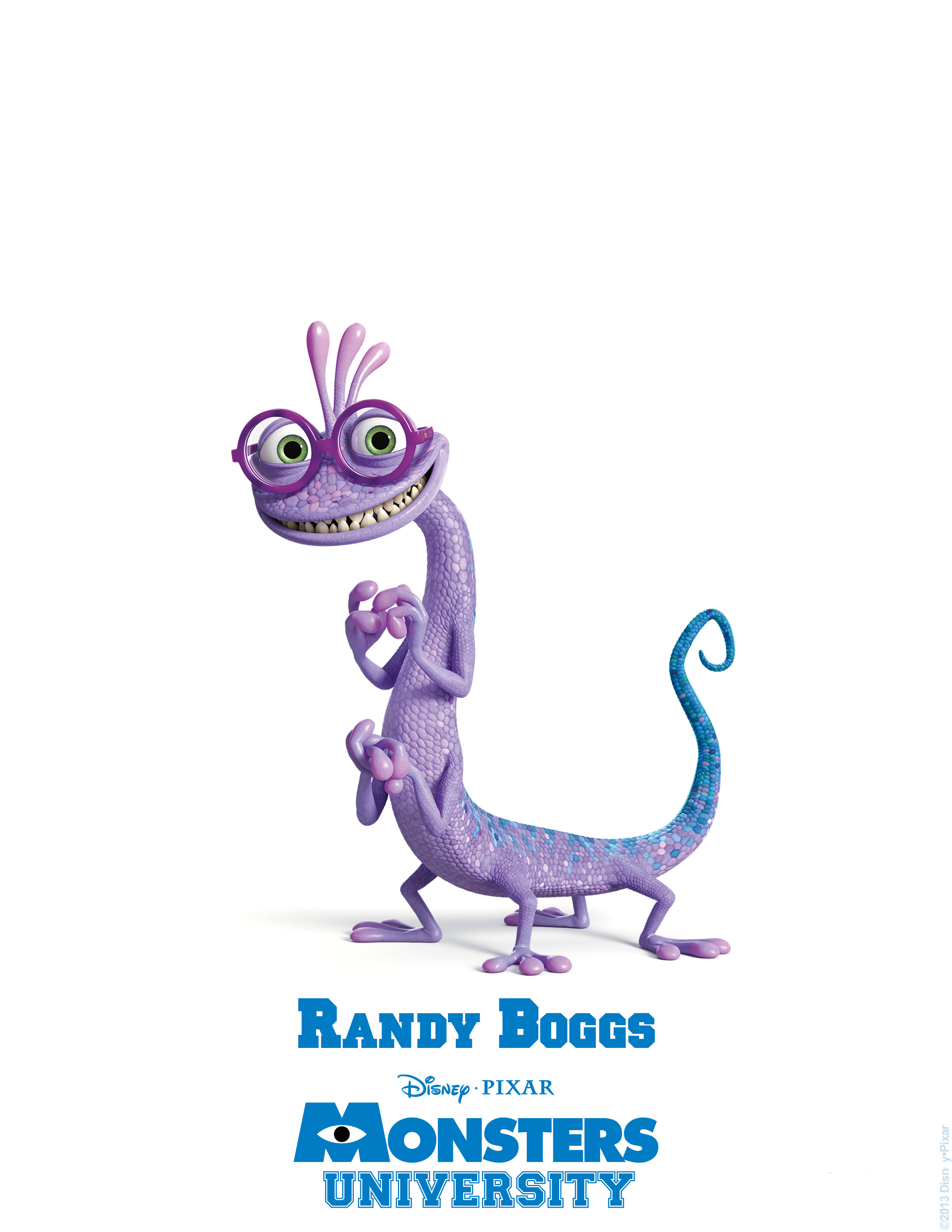randy boggs monsters university personajes