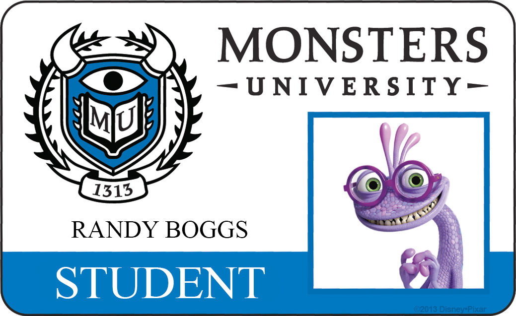 randy boggs monsters university id
