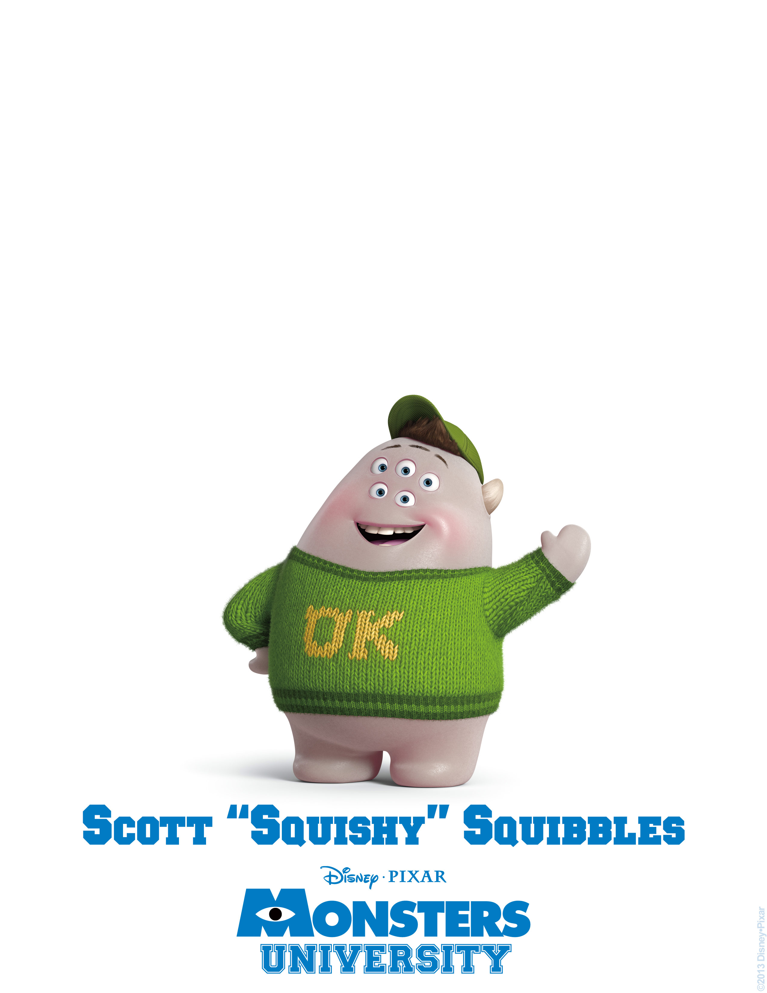 scott squishy squibbles monsters university personajes