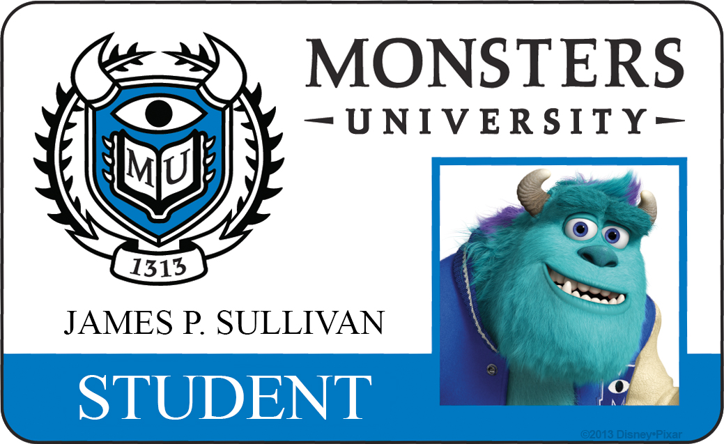 sully james p sullivan monsters university id