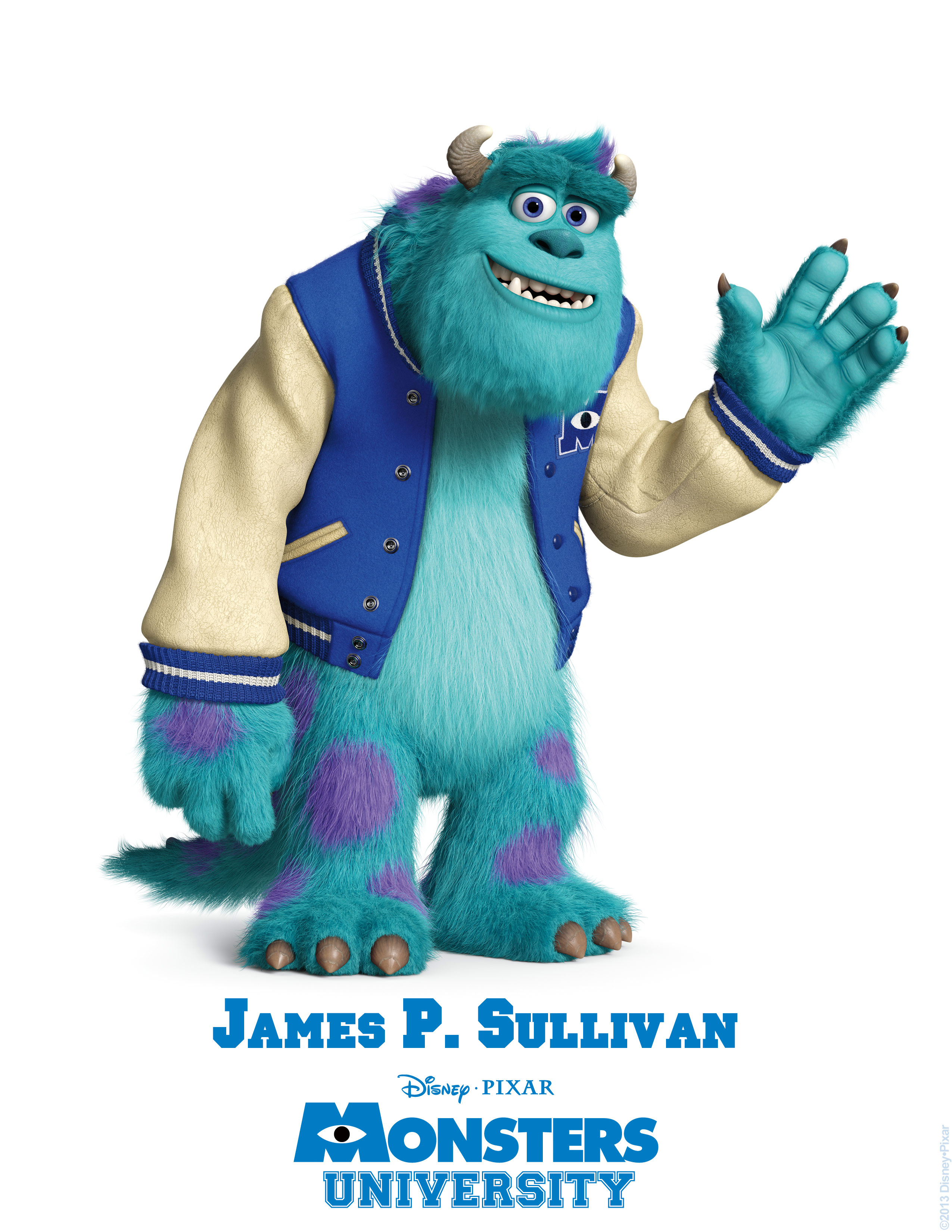 sully james p sullivan monsters university personajes