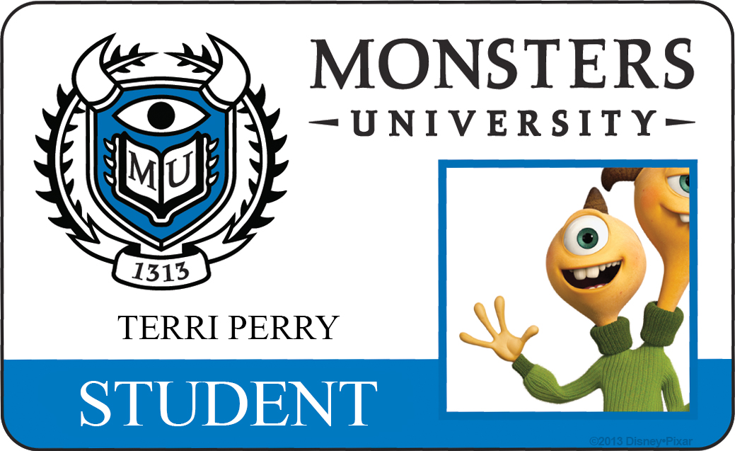terri perry monsters university id