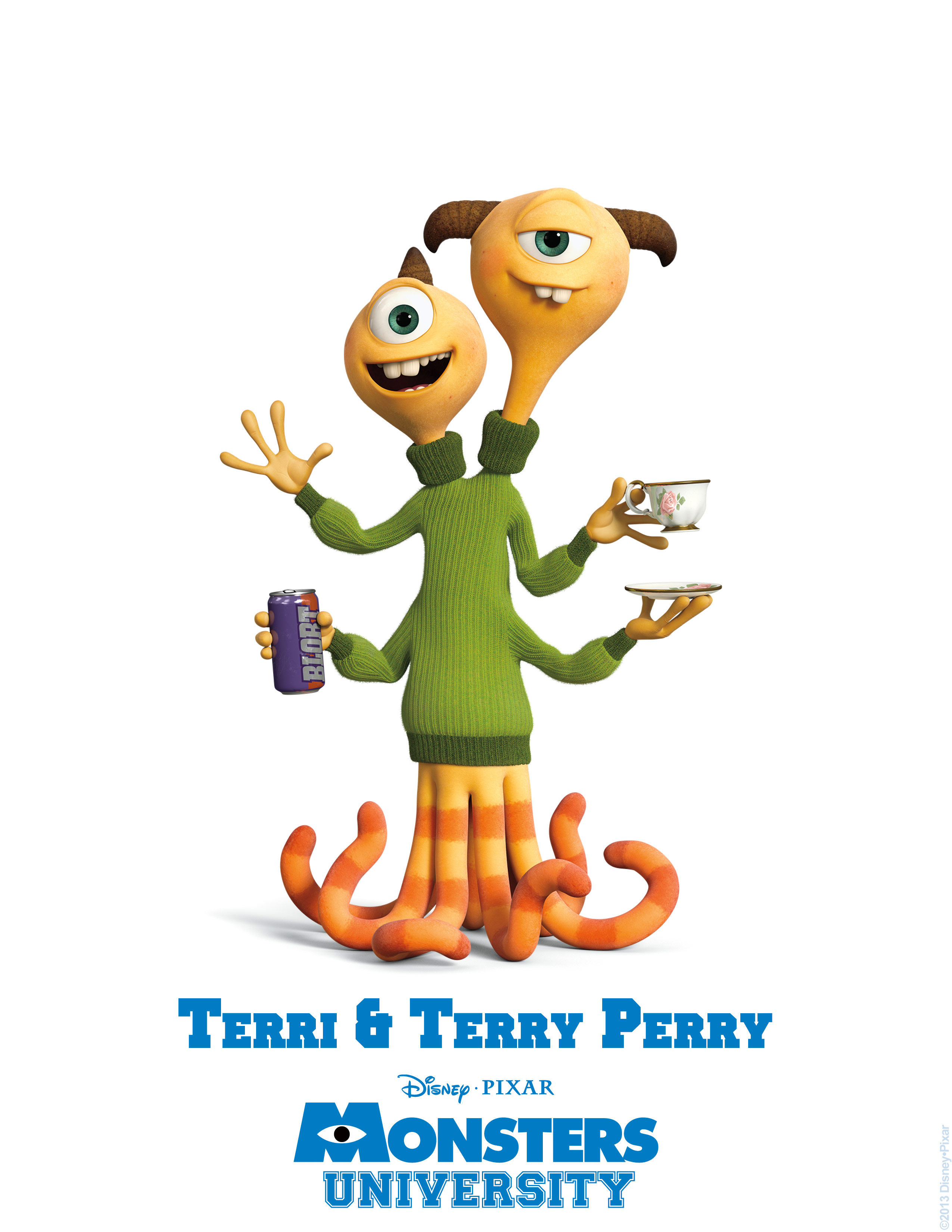 terri terry perry monsters university personajes